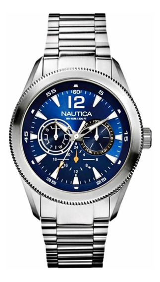 Relógio Nautica A17601g Ncs 650 Masculino