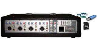 Consola Potenciada C/usb Pam-4010eq