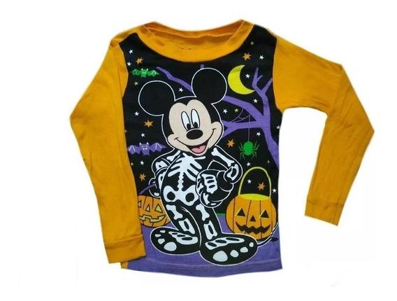 Playera Halloween Mickey Mouse Para Disfraz