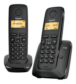 Teléfonos Inalámbricos Gigaset A120 Duo Nuevo De Linea