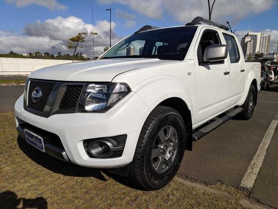 Nissan Frontier 2.5 Sv Attack Cd (completa + Banco De Couro)