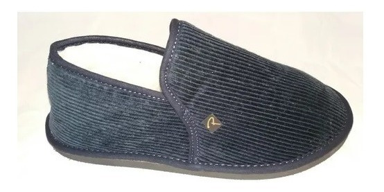 Pantufla Cerrada Corderoy Pantofola 39 Al 46/calzados Tirel