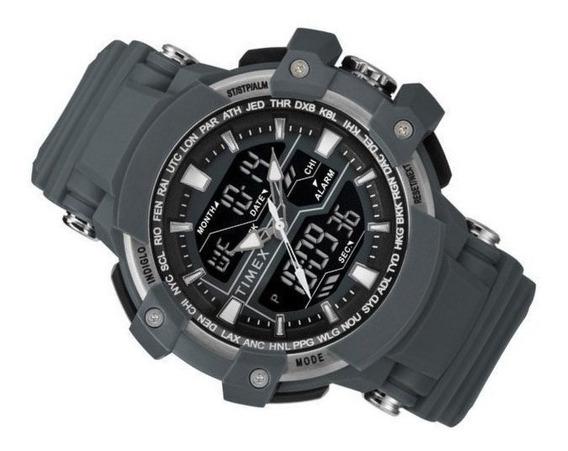 Timex Tactico Big Combo Reloj Tw5m22800 Nuevo Y Original