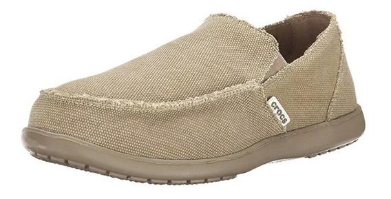 Crocs Original Mocasines Santa Cruz Khaki Zapatillas Hombre