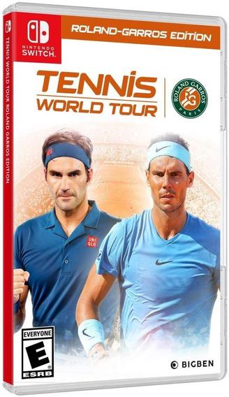 Tennis World Tour Roland-garros Edition - Switch