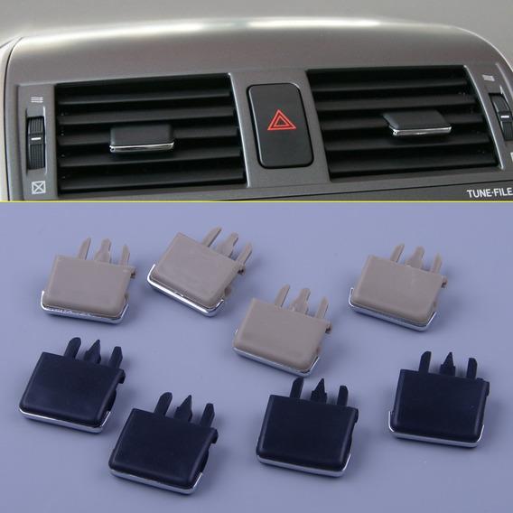 Par Clip Difusor Ar Corolla 2009 2014 Direcionador