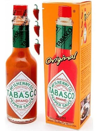 Molho De Pimenta Vermelho Tabasco Original 60ml