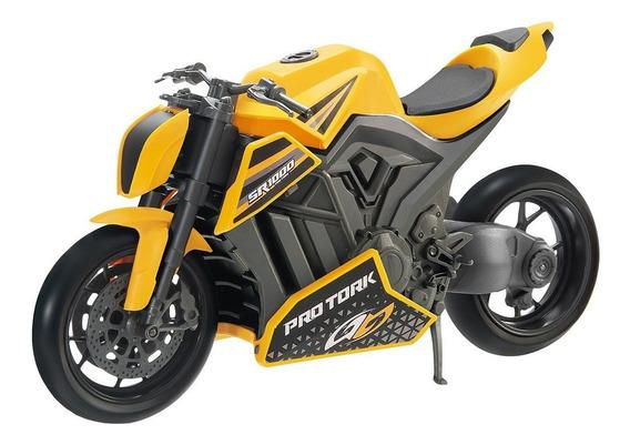 Miniatura De Moto Bmw Sr 1000 Brinquedo Racing Pro Tork
