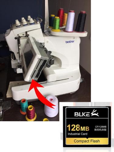 Cartão De Memoria 128mb Cf Para Brother Pr600 +adaptador Usb
