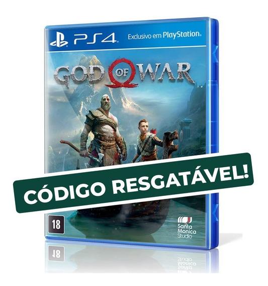 God Of War - Ps4 (código Resgatável)