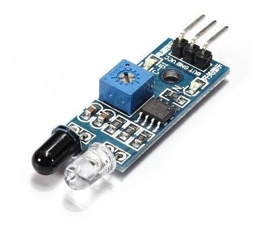 Sensor De Obstáculo Infravermelho/ Reflexão Lm393 Arduino