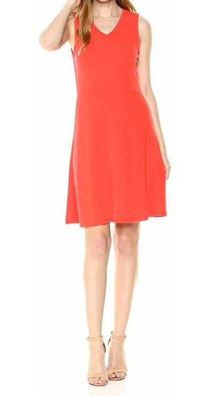 Vestido A|x Talla Grande Naranja