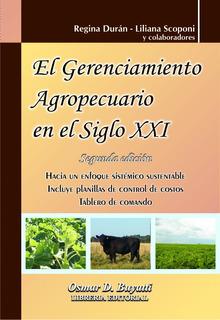 El Gerenciamiento Agropecuario En El Siglo Xxi