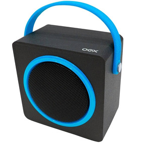 Caixa De Som Speaker Box Oex Sk404 Bluetooth 10w Azul