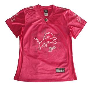 Camiseta Nfl - M - Detroit Lions (mujer) - Original - 071