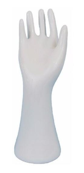 20 Porta Anel Mão Branco - Atacado 20 Peças - Porcelana