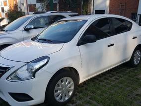 Excelente Oportunidad Nissan Versa 1.6 Drive Tm Aa Blanco