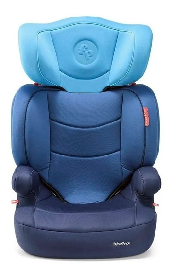 Booster com apoio Fisher-Price Highback Fix Azul