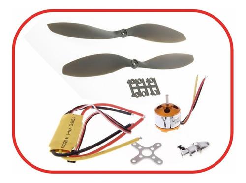 Kit Motor Brushlees A2212 1000kv +esc 30a + Atg Helices 1047