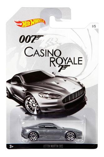 Aston Martin Dbs James Bond Escala 1/64 Coleccion Hot Wheels