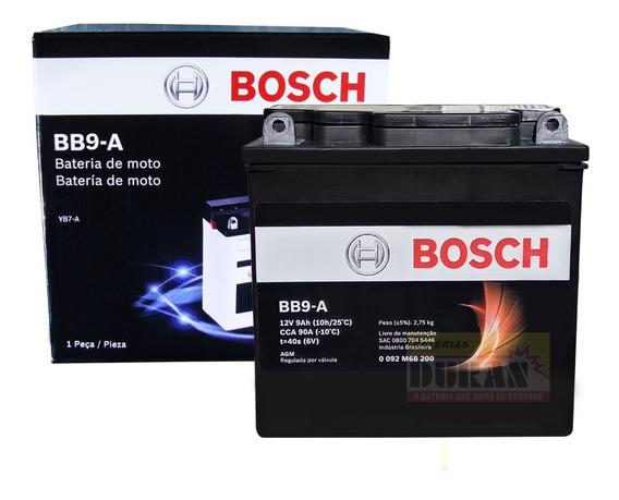 Bateria Moto Bosch Yb7-a Suzuki En 125 Intruder 125 Fazer