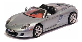Miniatura Porsche Carrera Gt Conversível Preto 1/24 Motormax