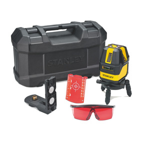 Kit Nivel Laser Multilinea Con Baterías 4v1hr / Stht77512-la