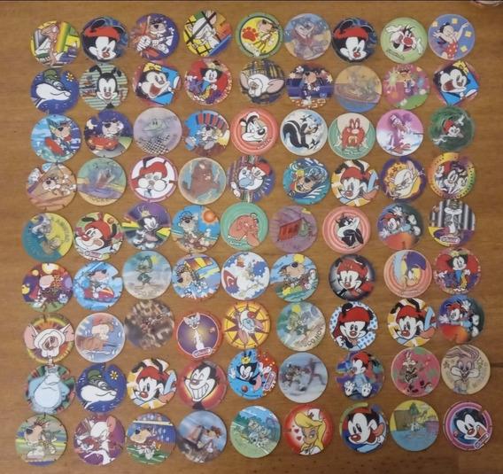 Gran Colección Tazos Pepsico Animaniacs Cheetos Tiny Toons