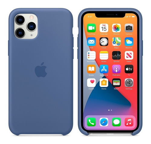 Silicone Case Para iPhone 11 Pro Max