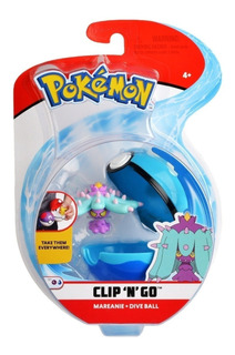 Pokebola Pikachu Pokemon Clip N Go Original Tomy