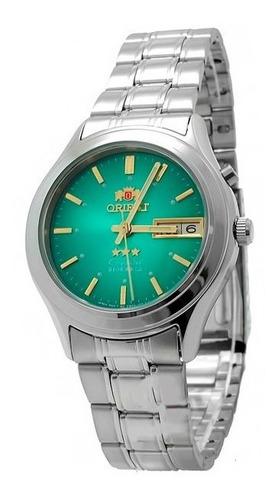 Relógio Orient Automático Aço Masculino Fem0301zf9 Promoção