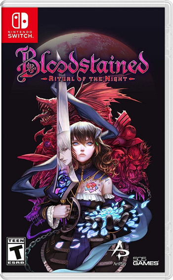 Bloodstained: Ritual Of The Night - Switch - Pronta Entrega