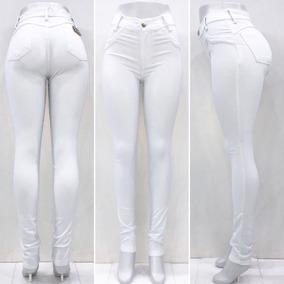 a10264634 Calça Branca Feminina Jeans - Calças Jeans Feminino no Mercado Livre ...