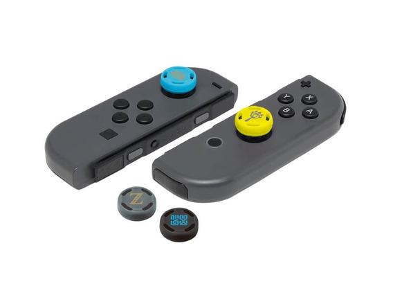 Grip Para Analógico Joy Con Nintendo Switch - Várias Versões