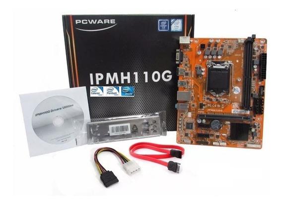 Kit Placa Mae Ipm H110g Ddr3 G4560 7ªg 8gb 1600 Mhz S/juros