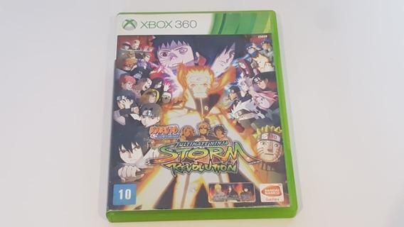 Naruto Ultimate Ninja Storm Revolution - Xbox360 - Usado
