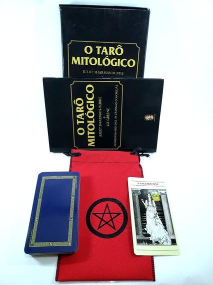 Taro Mitologico Livro Tarot Brinde Estojo Para Cartas