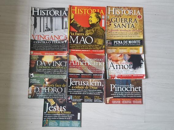 Revistas Aventuras Na História - 10 Exemplares De 2006