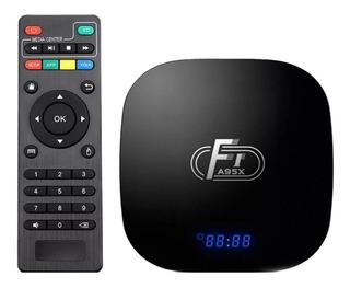 Conversor Smart Convertir Tv Box 2/16 Gb Android 8.1 F1 4k