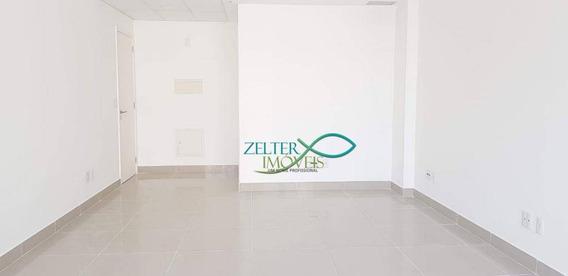 Excelente Sala Comercial No Centro Metropolitano Toa Reformada Com Ar Condicionado De 25.000 Btus - Sa0110
