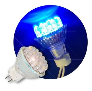 Dicroled Mini 1w Color Azul Gu5.3 12v - Luz Para La Pileta