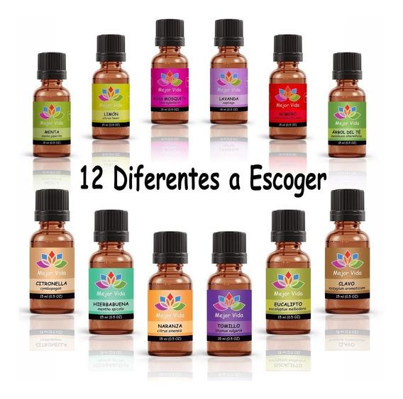 7 Aceites Esenciales A Escoger Aromaterapia Masajes, Terapia