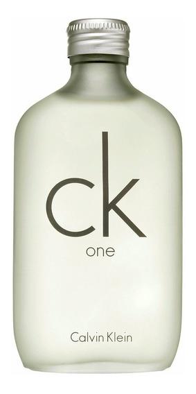 Perfume Ck One Calvin Klein Limpio Y Minimalista Original