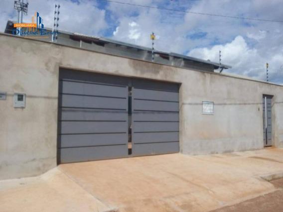 Casa Com 3 Dormitórios À Venda, 135 M² Por R$ 240.000,00 - Residencial Rio Jordão - Anápolis/go - Ca1180