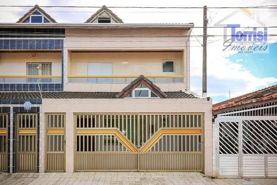 Sobrado Em Praia Grande, 03 Dormitórios Sendo 03 Suíte, No Bairro Boqueirão, So0045 - So0045
