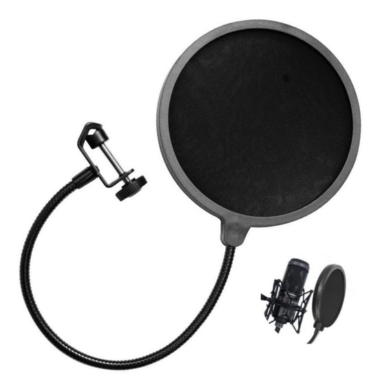 Pop Filter P/ Microfone Condensador Studio