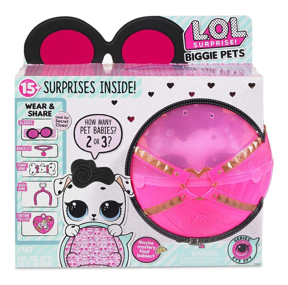 Lol Surprise Biggie Pet Mascota Y Cartera