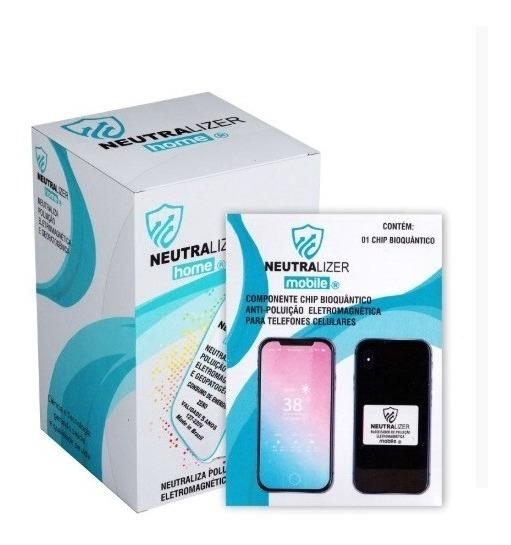 Kit Saúde Neutralizer Home E Mobile Bloqueador De Radiações