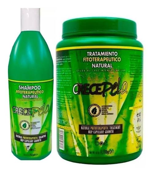 Shampoo Crece Pelo 965ml + Mascara Crece Pelo 1730 Kg - Boé