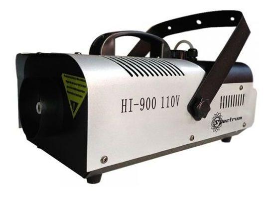 Máquina De Fumaça Spectrum 900w 110v Hi900 Controle Sem Fio